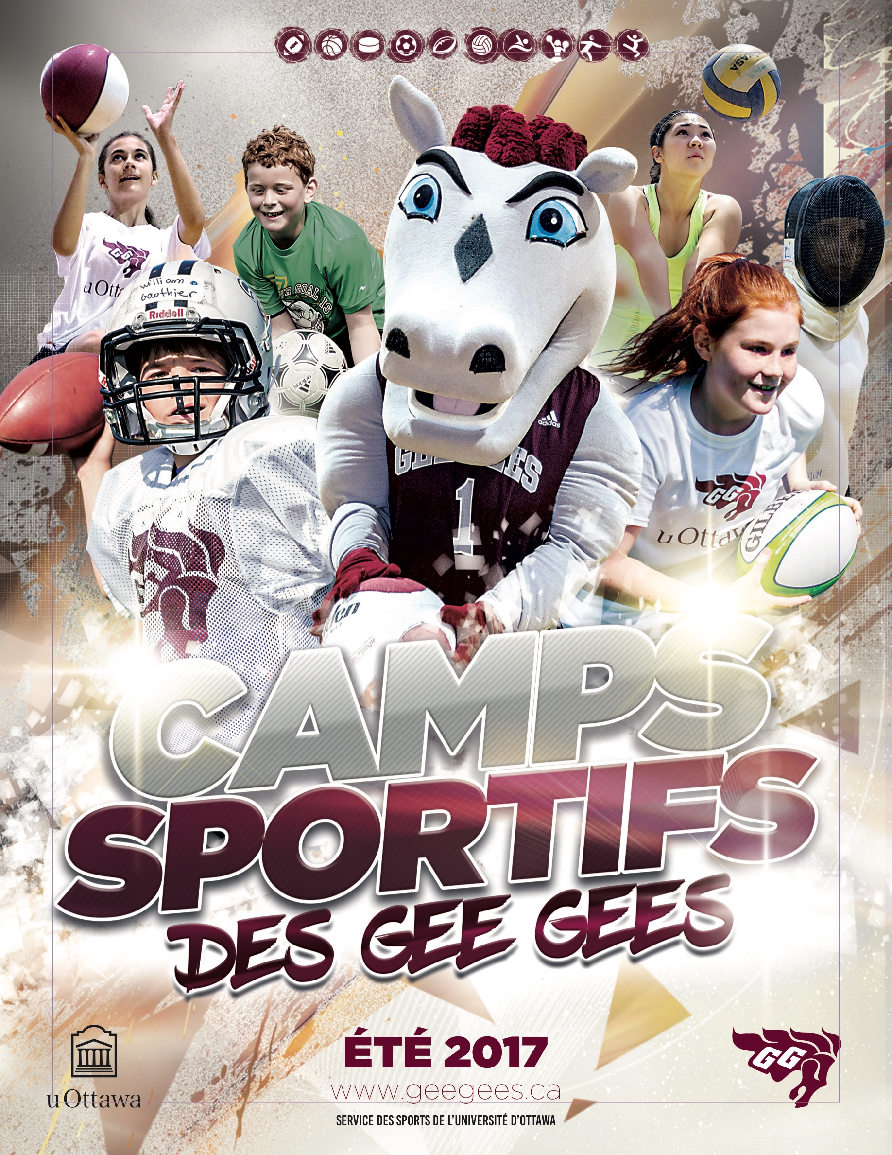 Gee-Gees juniors avec introduction aux sports