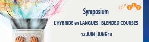 L'hybride en langues à l'ILOB
