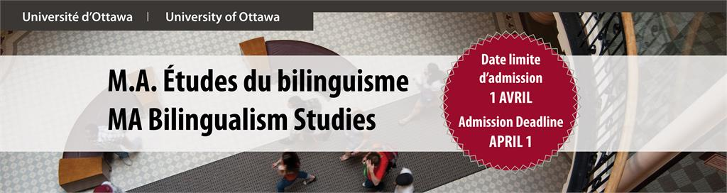 MA Bilingualism Studies