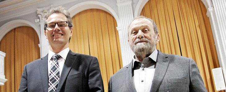 Jérémie Séror et Raymond Leblanc