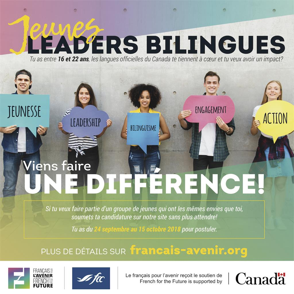 Become a Bilingual Young Leader with ''French for the Future''!