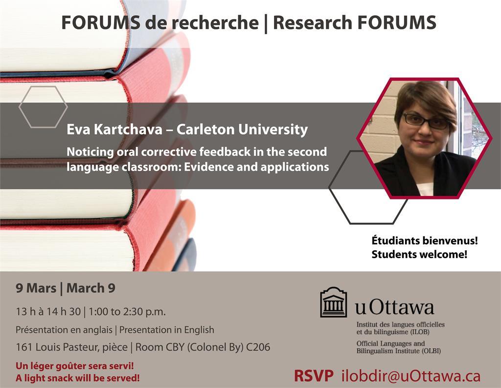 Eva Kartchava - Carleton University
