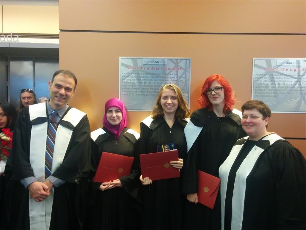Diplômées de l'ILOB