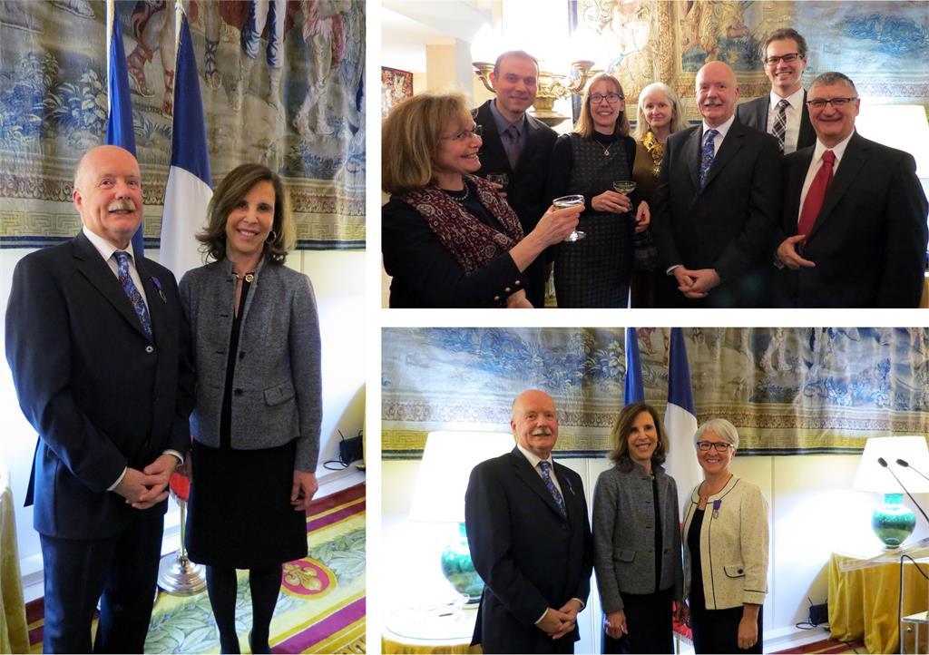 Richard Clément, Chevalier dans l'Ordre des Palmes académiques 2018